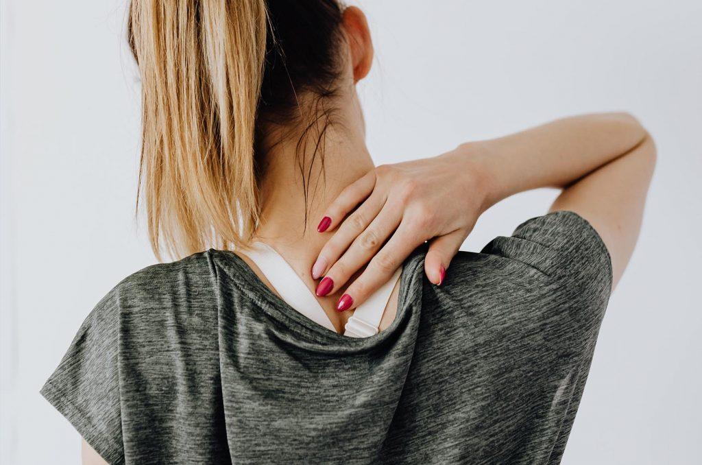 bolečina vratu